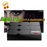 Wholesale Tv Box V3 - 2018 M9S V3 V5 Android TV Boxes Rockchip RK3229 Quad Core 4K wireless WIFI HDMI media player TV OTT set top box Media player