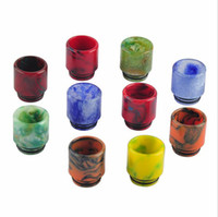 Wholesale Tips For Clearomizer - 2017 Hotsell TFV8 Big Baby Clearomizer Mouthpiece 510 Thread Epoxy Resin drip tip mouthpiece for TFV12 Cloud Beast 510 Atomizer