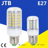 e14 maïs led ampoules 8w achat en gros de-E27 220V 110V LED lampe 5730 SMD LED ampoule E14 maïs Leds lampe Bombillas ampoules ampoule d'éclairage