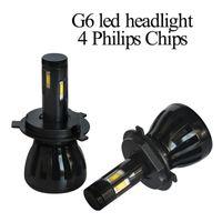 Wholesale G6 Light - Super Bright Auto Part Replacement Led G6 H1 H3 H4 H8 H9 H11 H10 9006 96W 9600LM 9-36V LED Car Headlights Bulbs