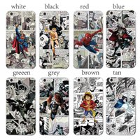 étui iphone 5c anime achat en gros de-Anime Superman Man of Steel pour Apple iPhone 4 4S 5 5C SE 6 6S 7 7S Plus Art Couverture en ligne