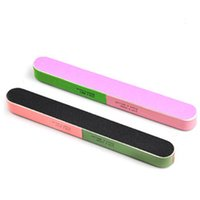 Wholesale manicure articles - Wholesale- 2015 Hot Sale Article Nail File Of The Six Sides Frosted Professional Manicure Tools