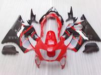 Wholesale cbr f4 fairings - High quality Fairings for CBR600F4 1999-2000 CBR 600F4 CBR600 F4 600 F4 99 00 1999 2000 fairing kit+windscreen D325 black