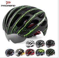 Wholesale Mountain Building - Promend mountain bike scalable built-in viewed a integrated helmet hat riding glasses equipment
