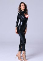 Plus Size Wet Sguardo Fuax Leather Leotard Latex Lenceria Femenina Nero Catsuit Lingerie Bondage Body Costume Sexy Costume