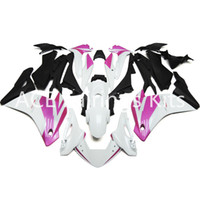 honda rr plastic оптовых-Подходит для Honda CBR 250R 2011-2014 CBR250RR впрыска ABS пластик мотоцикл обтекатель комплект кузова CBR 250 RR 11 12 13 14 черный розовый белый v54