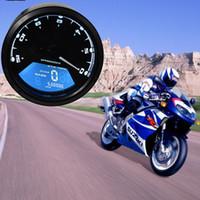 Wholesale motorcycle odometer speedometer tachometer - CS-363 LCD Digital Tachometer Speedometer Odometer Motorcycle Motorbike 12000RPM