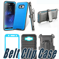 Wholesale Cover For Alcatel - Defender Armor Case Cover With Belt Clip Screen Film For ZTE Z982 Sequoia Zmax Pro 2 Z986 Alcatel Idol 4 Tru Stellar FIERCE 4 A3 A30