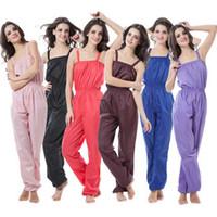 Wholesale Weight Slimming Clothes - Wholesale- Aerobics Clothing Weight Loss Suit Slimming Pants Sauna Service Sauna Suit Women Sauna Pants Sportwear MLXL2XL3XL