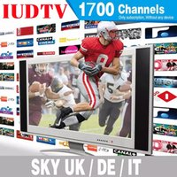 Wholesale Sky Android - IUDTV IPTV Account Apk Europe IPTV Arabic Iptv include Sky IT TR UK DE 1300+ Channels Support Android Enigma2 Mag 250 254