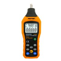 Wholesale Data Log - MS6208A LCD Display High Performance Revolution Meter Contact-type Digital Tachometer with Data Logging Backlight Five units selection