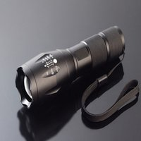 ricaricabile T6 L2 LED Torch luce LED Flash Lamp CREE XM-L L2 alluminio impermeabile Zoomable Torcia led Torce luce