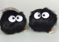 Wholesale Totoro Push - High Quality Cute small pendant totoro plush toys chinchilla Totoro charcoal briquettes dolls for gift free shipping