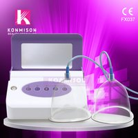 Wholesale Breasts Sizes Shapes - New rechargeable breast enlargement machine bust lifting breast enhancer massager body shaping beauty machine DHL Free Shipping