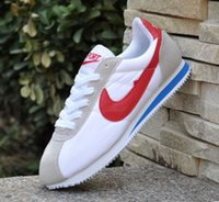 Wholesale Hot Aa - high quality AA+ Hot new brands Casual Shoes men and women cortez shoes leisure Shells shoes Leather fashion outdoor Sneakers size 36-44