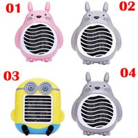 Wholesale Electric Heaters Cute Cartoon Portable Household Electric Heater Fan Heater Mini Heater Hand Warmer Small Household Appliances