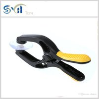 Wholesale Tablet Lcd Repair - Plastic Strong Suction Cup Clamp Cellphone LCD Screen Removal Opening Pliers Repair Tool For iPhone Tablet 16.5*7.5cm