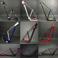 Wholesale Bicycles Frames - 2017 Super light only 950g 142 135 carbon mountain bike frame 29er 27.5er carbon mtb frames 650b Racing bicycle frameset