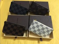 Wholesale Small Plain Gift Boxes - OP KEY POUCH Damier canvas holds high quality famous classical designer women key holder coin purse small leer with gift box bag sap