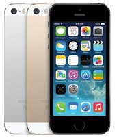 "Wholesale Iphone 5s Black Unlocked - Refurbished Original Apple iPhone 5S With Touch ID 64GB 32GB 16GB Unlocked Phone iOS 8 4.0"" IPS HD A7 8MP"