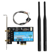 Wholesale intel express resale online - BT Dual Band Wireless AC Intel Mbps WiFi PCiI E Desktop WLAN Card
