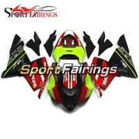 Red Green Carénages Pour Kawasaki ZX10R 04 05 2004 2005 Injection ABS Plastic Motorcycle Bodywork Cowlings Body Kit Fittings
