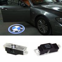 türschattenprojektor bmw großhandel-Geist-Schatten-Licht-Willkommens-Laser-Projektor beleuchtet LED-Autotür-Logo für BMW E60 M5 E90 F10 X5 X3 X6 X1 GT E85 M3