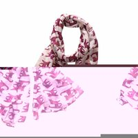 Wholesale Winter Mufflers Men - Wholesale- winter women scarf Bowknot Little Cat muffler girl Bowknot Cat Print Pattern female Long neckerchief Warm Wrap muffler Tippet
