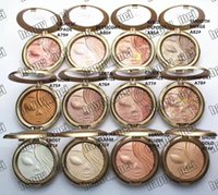 Wholesale Face Press - Factory Direct DHL Free Shipping New Makeup Face Holiday Powder Bronzer Extra Dimension Skinfinish Face Powder!12 Different Colors