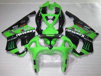 Wholesale 99 kawasaki ninja zx7r fairings for sale - Motorcycle Fairing kit for Kawasaki Ninja ZX7R green black fairings set ZX7R OY04