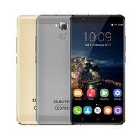 Wholesale Dual Core Resolution - 6inch Oukitel u16 max mtk6753 octa core 3g ram 32g rom resolution 1280x720 fingerprint 4000 mah android 7.0 4G LTE smartphone