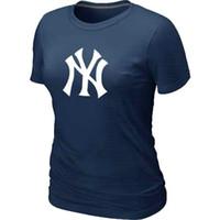 Wholesale Cheap Women S White Shirts - Cheap New York Yankees Women Baseball T Shirt Short Sleeve Practice T-shirt Blended T-Shirt 14 Colors