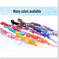Wholesale Neck Strap Ring - Rotatable detachable Neck Strap Detachable Ring Lanyard hanging Charming Charms For Cell Phone MP3 MP4 Flash Drives ID Cards holder