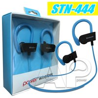 Wholesale Earbuds Iphone Package - Bluetooth Earphones Stereo Headset For Iphone7 Earbuds STN-444 For Iphone Xiaomi Android Huawei Lenovo Samsung Galaxy S7 With Retali Package