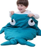 Wholesale The hot style all cotton children s sleeping bag is one to three years old in a sleeping bag