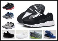 61d7faf05172 Männer Huarache 1 Laufschuhe Reality Beat grau weiß schwarz Mann Outdoor  Sneaker Sportschuhe Laufschuhe Jungen Turnschuhe y3factory Shop EUR 40-45