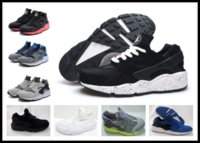Wholesale Beat Man - Men Huarache 1 running shoes Reality beat grey white black man outdoor sneaker sport shoes run boys sneakers y3factory store EUR 40-45