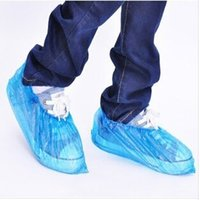chaussures de pluie couvrent en gros achat en gros de-Gros-Brand New Ménage Épaississement Chaussures Jetables Couverture 600 Pcs / Pack Chaussures Imperméables Couverture Couvre Couvre Pluie Chaussures Couverture Vente Chaude