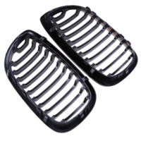 Wholesale Bmw E46 Exterior - Auto Replacement Parts 1Pair Car Front Grille Racing Grills For BMW E46 2 Door 2D 3 Series 2002-2006 Exterior Parts Car-styling