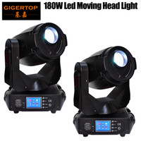 Wholesale power heads - Freeshipping 2 Pack 180W Led Moving Head Light Pan 540 Tilt 270 Degree Frost Lens 3 Facet Prism 5 Facet Prism CE ROHS High Power TP-L680