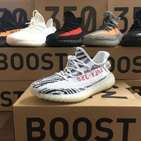 Avec Box 2017 Adidas Yeezy 350 Cheap Wholesale Chaussures de course pour homme et femme Boost 350 V2 SPLY-350 STEGRY BELUGA SOLRED Primenkit Sneakers Boosts Bootsts
