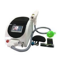 Wholesale newest model skin whitening carbon peeling nd yag laser tattoo removal machine