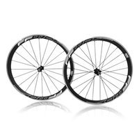 Carbon paint alloy wheel - 38mm FFWD Alloy Carbon A271 Wheelset Clincher Black paint style carbon Tubular wheelset road bicycle wheels