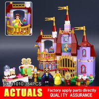 Wholesale Princess Building Blocks - LEPIN 01010 384pcs GIRL SERIES The Princess Bell`s Enchanted Castle Beauty and The Beast Building Blocks Bricks toy 41067