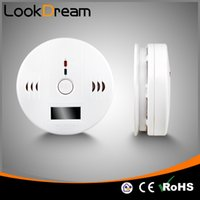 Wholesale Alarm Detectors - LookDream Home Security Carbon Monoxide Detector CO Alarm With Screen Show Include Batteries Protect Life High Quality