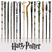 Wholesale Wholesale Magic Wands - Creative Cosplay 18 Styles Hogwarts Harry Potter Series Magic Wand New Upgrade Resin Harry Potter Magical Wand OTH057