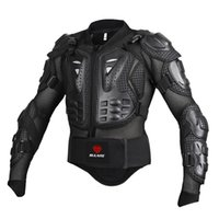 Wholesale Armor Motorcycle Clothing - Black RED Motorcycles Armor Protection Motocross Clothing Jacket Protector Moto Cross Back Armor Protector Protection Jackets