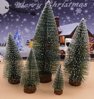 Wholesale Free Counters - Christmas Tree Desktop 15cm Mini White Encryption Christmas Tree Counter Decoration Gifts Christmas Decorations wholesale free shipping