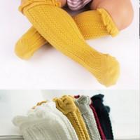 Wholesale Toddler Thin Socks - Baby Boys Socks Lace fishnet stocking New Summer Autumn all match Knee Highs Toddler Girls Socksing Thin Socks C1246