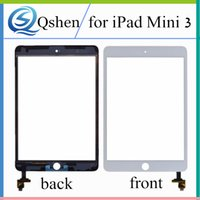 Wholesale Capacitive Touch Ic - High Quality for iPad Mini 3 Touch Screen Digitizer Glass Panel with IC Contector A1599 A1600 A1601